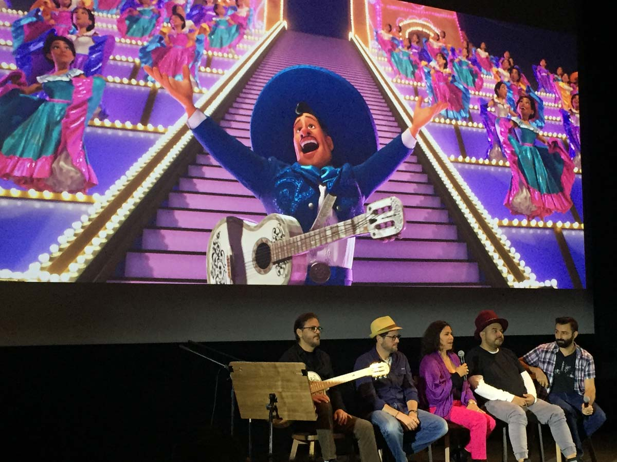 Pixar Lead Press Day for Coco - with Federico Ramos, Michael Giacchino, Camilo Lara and Adrian Molina